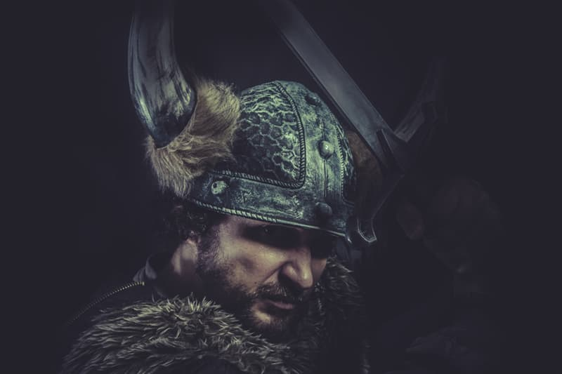 Culture Story: Myth The Vikings used to wear horned helmets
