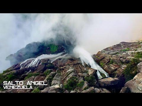 География Story: Головокружительное видео самого высокого водопада в мире!