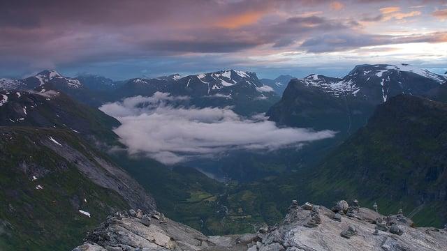 География Story: Прекрасные пейзажи Норвегии в потрясающем таймлапс видео