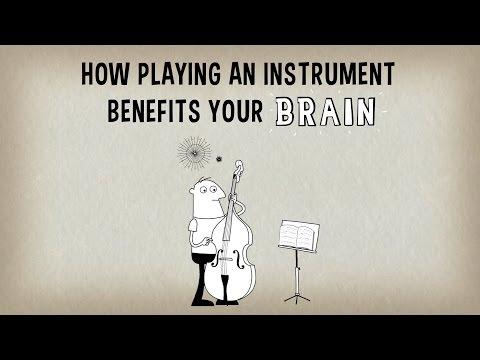 Наука Story: Почему игра на музыкальном инструменте положительно влияет на работу мозга!