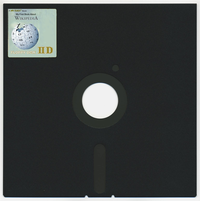Science Story: #23 8″ FLOPPY DISC