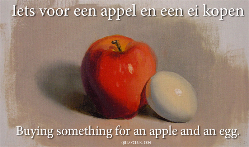 Culture Story: Buying something for an apple and an egg