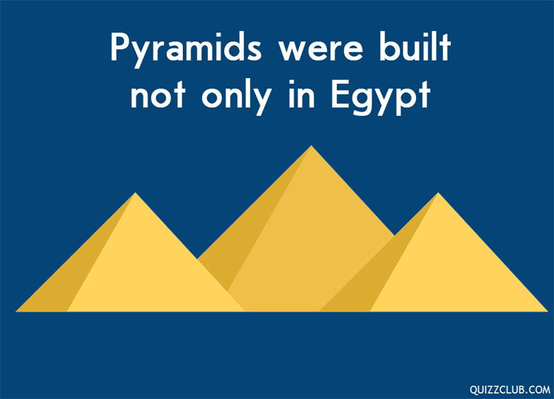 History Story: Pyramids were built not only in Egypt