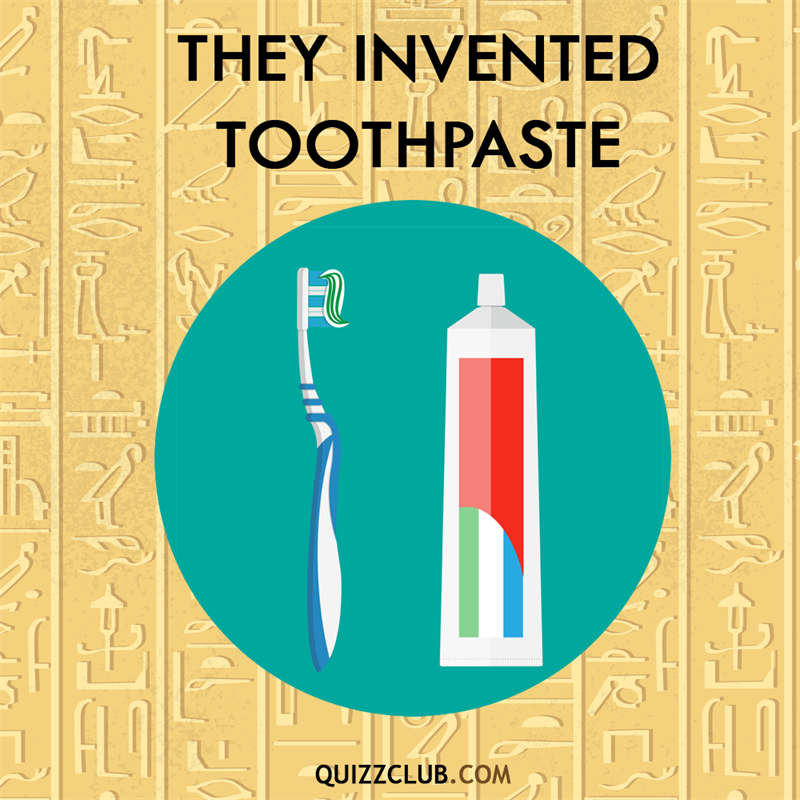 History Story: Ancient Egyptians invented toothpaste