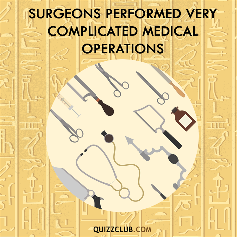 History Story: Surgeons performed very complicated medical operation