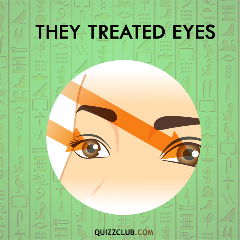 History Story: Ancient Egyptians treated eyes