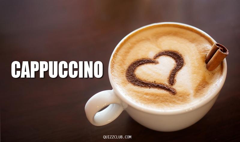 Culture Story: Cappuccino