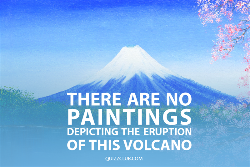 Geography Story: There are no paintings depicting the eruption of this volcano