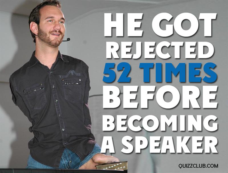 Society Story: The start of the speaker's career