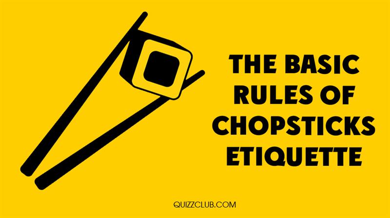 Culture Story: The basic rules of chopsticks etiquette