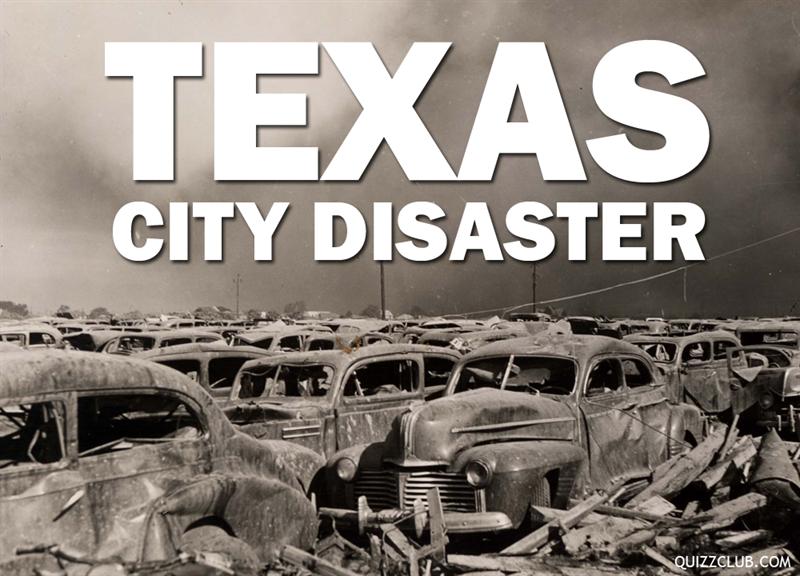 History Story: Texas City Disaster