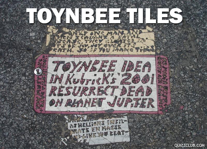 History Story: Toynbee tiles