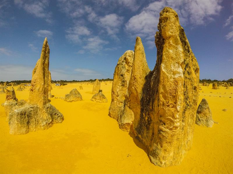 Geography Story: #11 The Pinnacles, Golden sands of Australia.