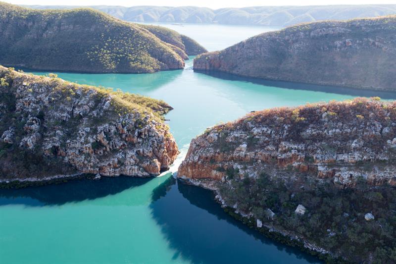 Geography Story: #4 Australian wonder - horizontal waterfalls