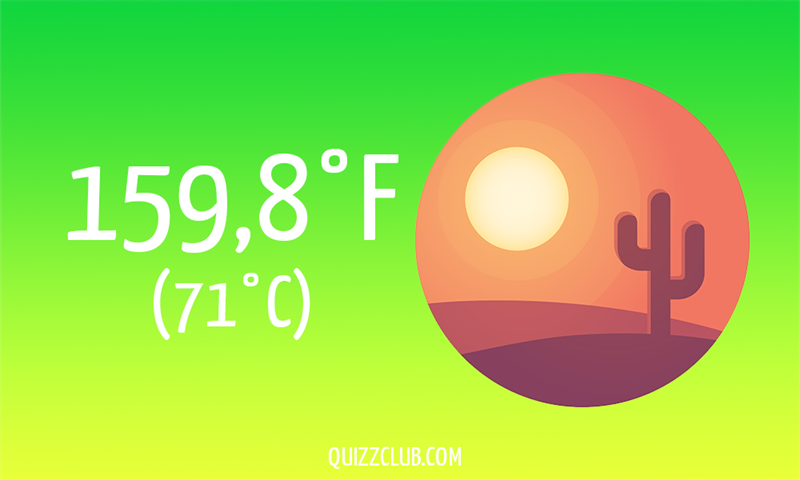 Nature Story: 159,8°F (71°C)