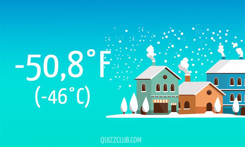 Nature Story: -50,8°F (-46°C)