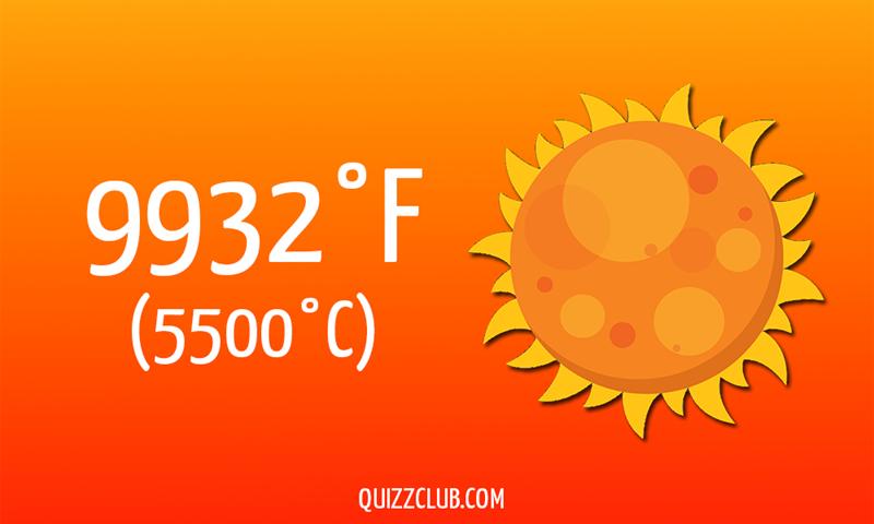 Nature Story: 9932°F (5500°C)