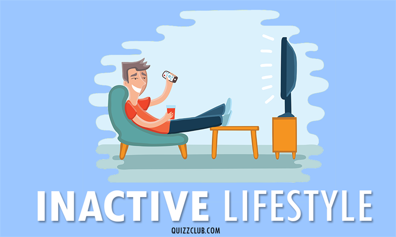 Society Story: Inactive lifestyle