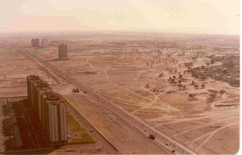 Geography Story: #10 Dubai, UAE. 1980s and present day