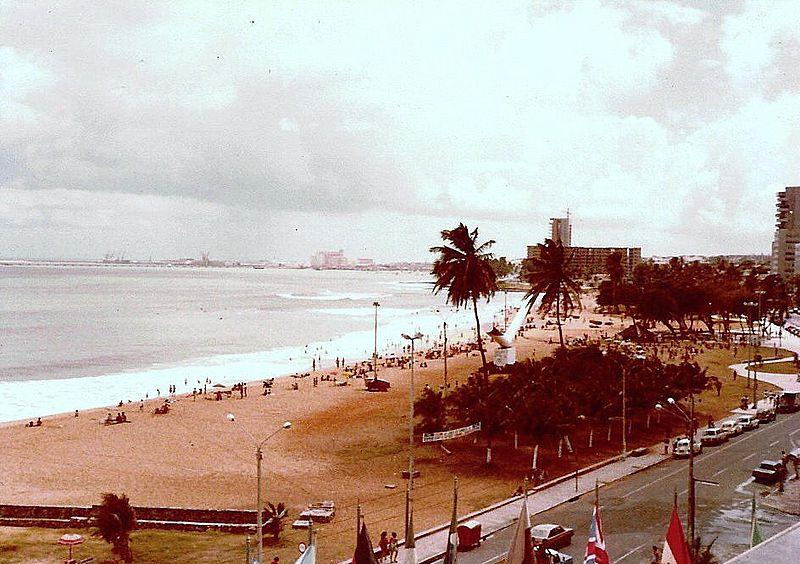 Geography Story: #3 Fortaleza, Brazil. 1980 and now