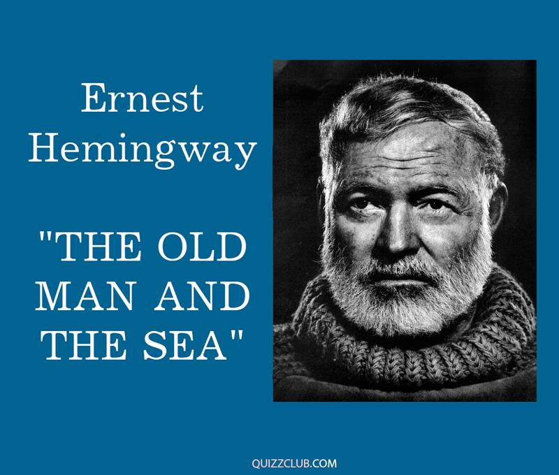 """Culture Story: 4. Ernest Hemingway """"The Old man and the Sea"""""""