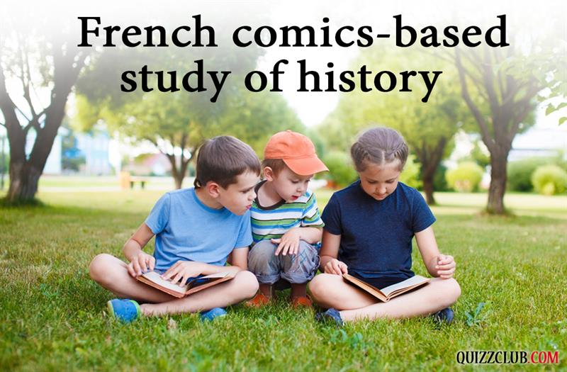 History Story: #11 French comics-based study of history