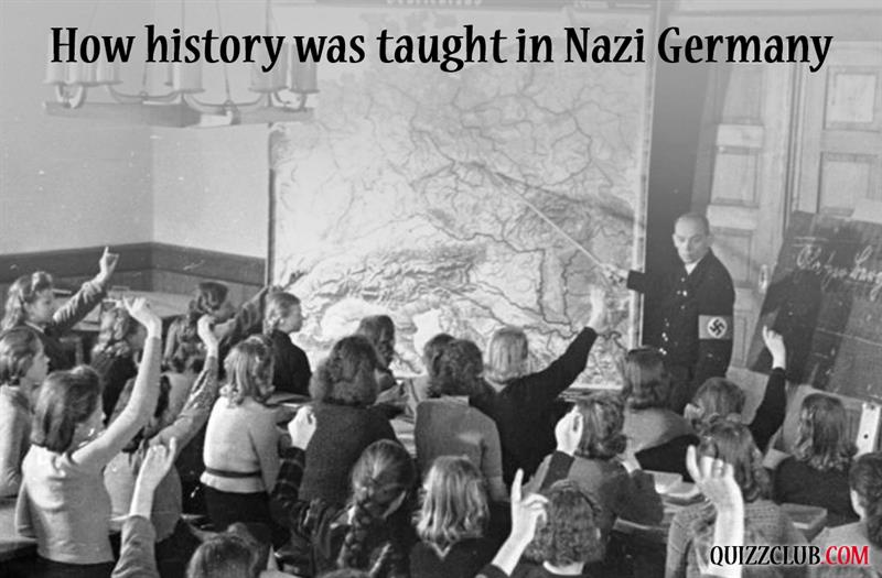 History Story: #3 How history was taught in Nazi Germany