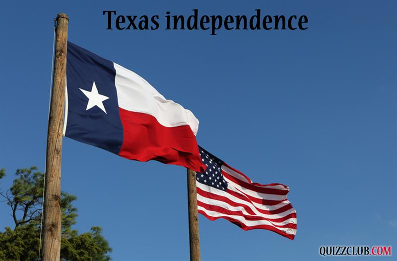 History Story: #7 Texas independence