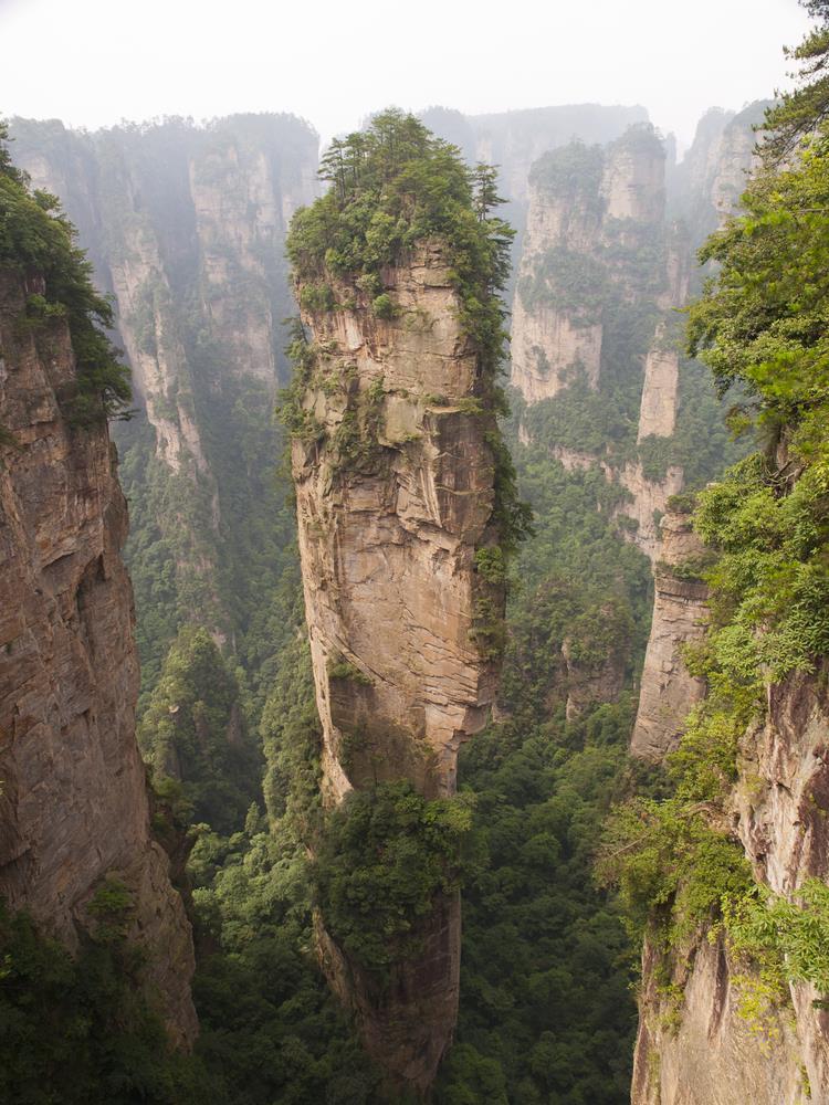 Geography Story: #16 Tianzi Mountains, China