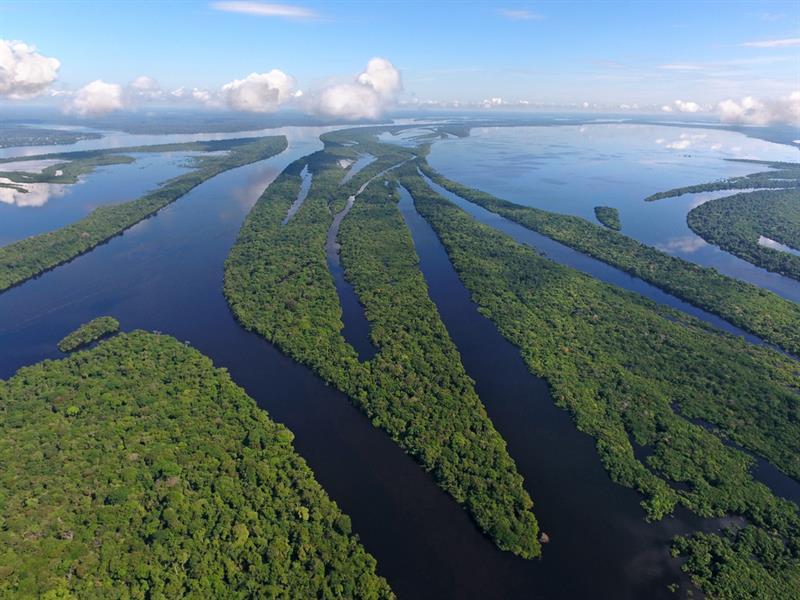 Geography Story: #4 Anavilhanas National park on Amazon River, Brazil