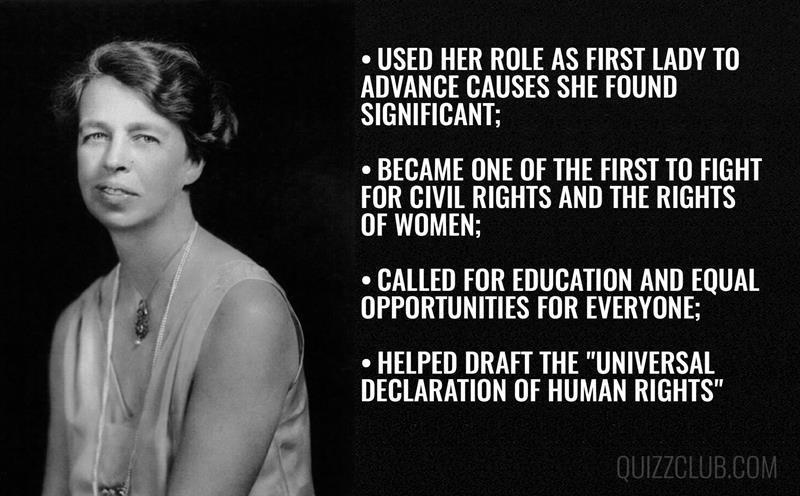 History Story: #2 Eleanor Roosevelt