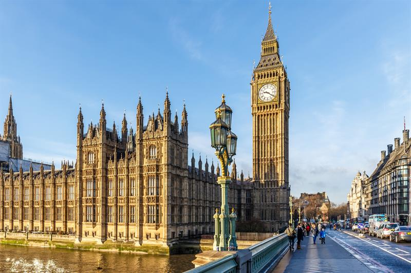 Geography Story: #1 Big Ben - is a clock tower