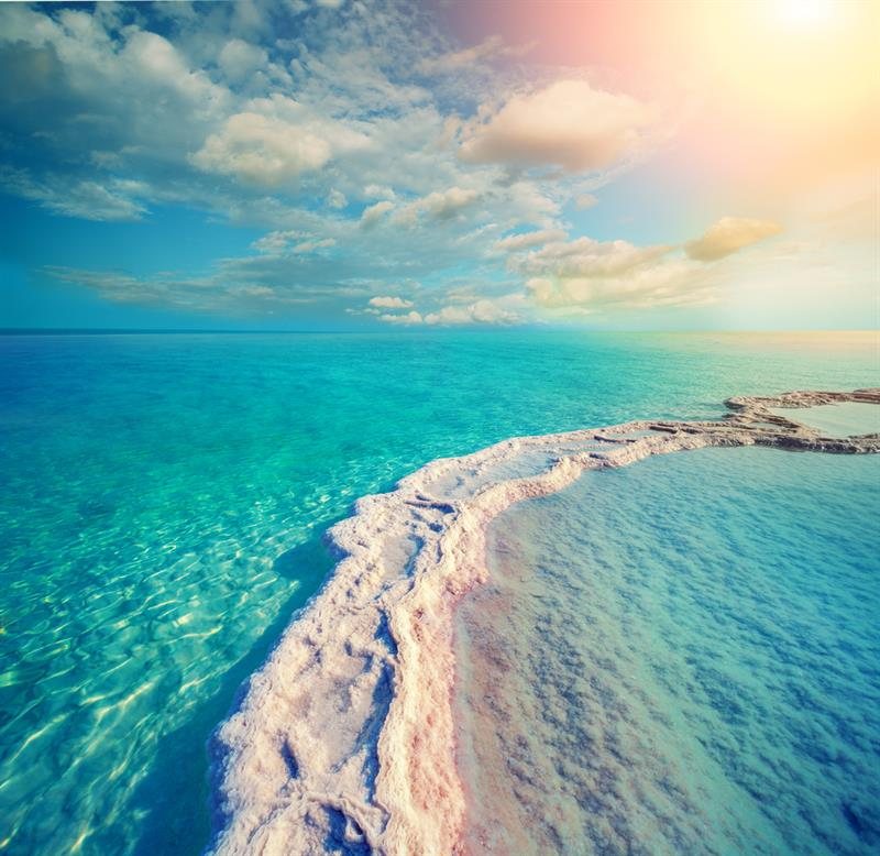 Geography Story: #2 The water of the Dead Sea is the most salty