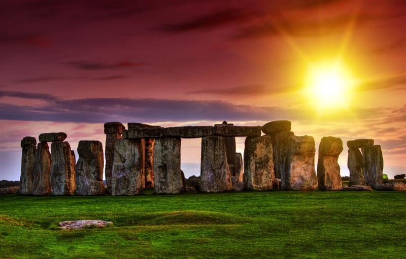 Geography Story: #3 Stonehenge was built by Druids