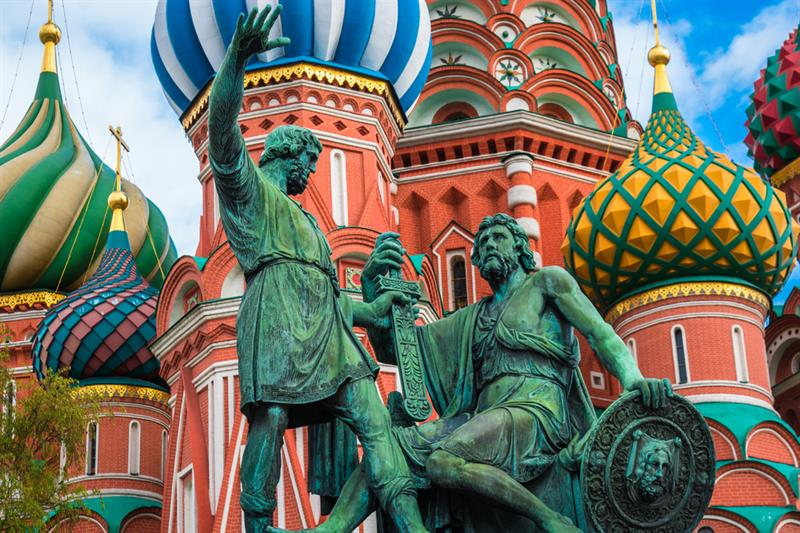 Geography Story: #4 Architects of Saint Basil's Cathedral were blinded