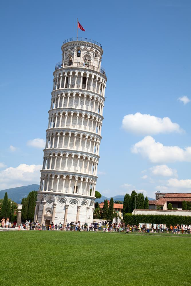 Geography Story: #5 Pisa tower is the most tilted one