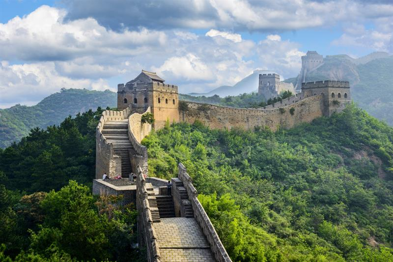 Geography Story: #9 The Great Wall is seen from space