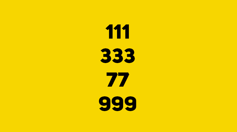 IQ Story: #4 Change 5 of the 12 digits in the example below to 0 so that the remaining digits in sum equal 1111.