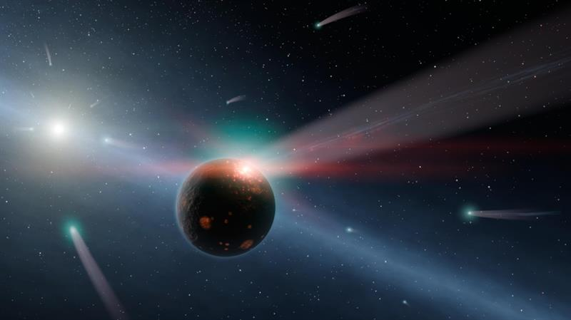 Geography Story: #3 Jupiter and Neptune attack Earth with comets