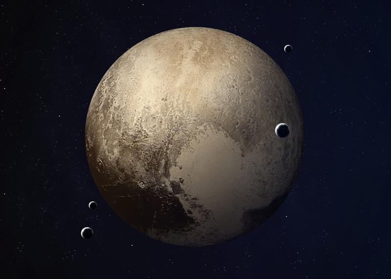 Geography Story: #4 Liquid water on Pluto