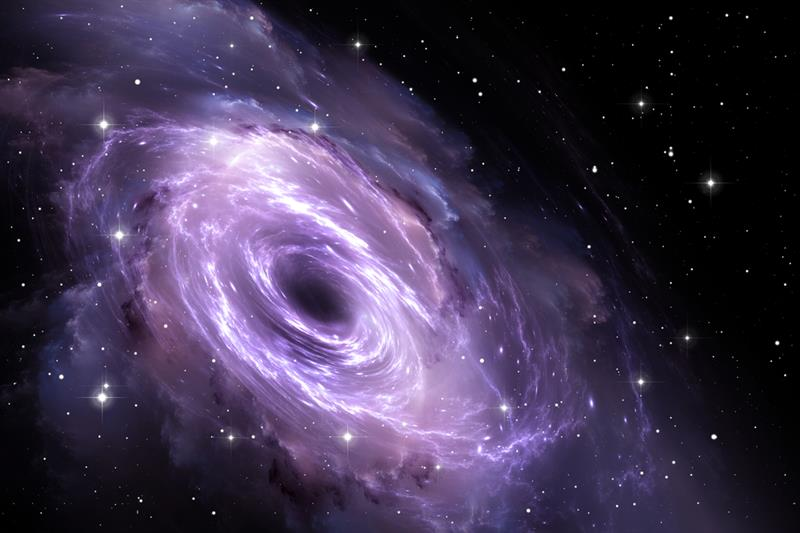 Geography Story: # 9 Scientists obtained evidence of black holes' existence