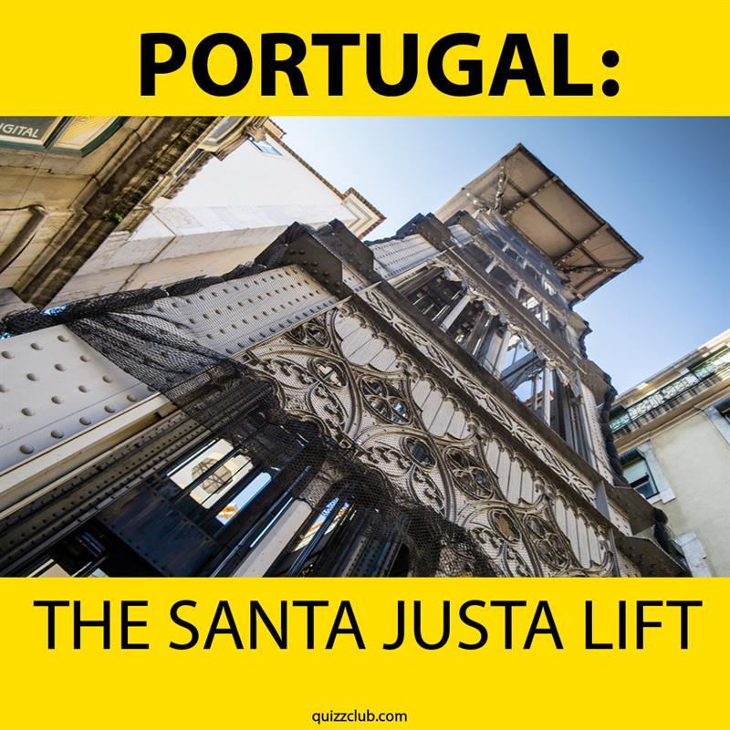 Geography Story: The Santa Justa Lift