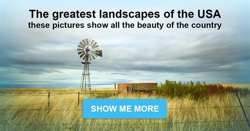 Nature Story: Great landscapes of the USA  - these pictures show how beautiful the country is