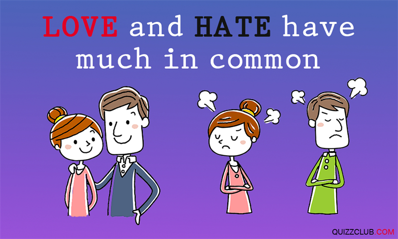 Science Story: #3 Love and hate have much in common