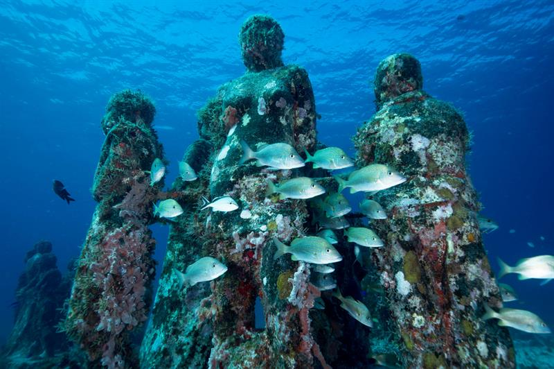 art Story: Museo Atlantico - the first underwater museum in the world was officially opened to visitors