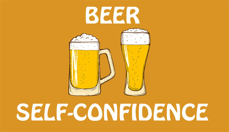 Science Story: Beer = self-confidence