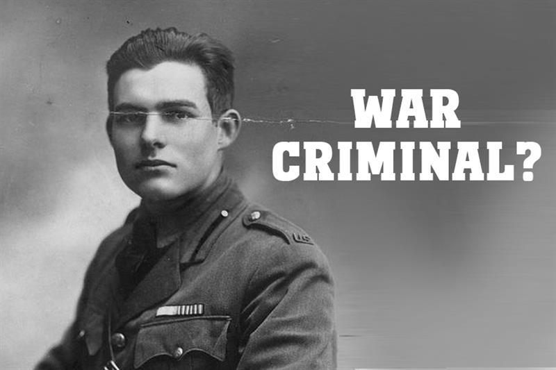 Culture Story: War criminal?