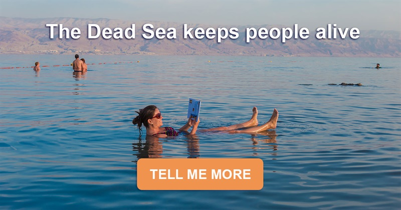 Geography Story: The Dead Sea keeps people alive