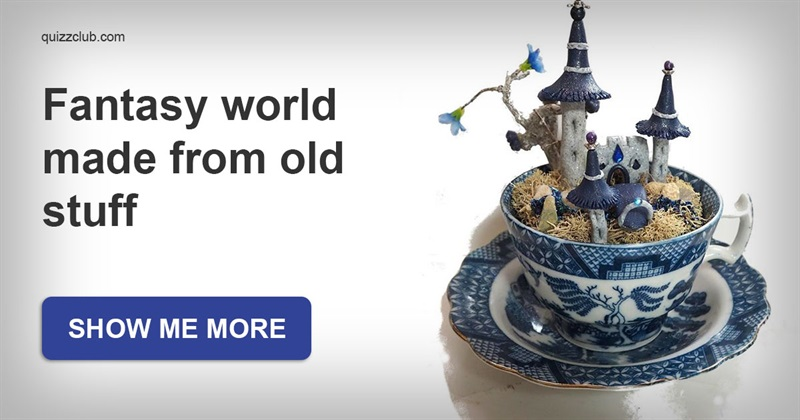 art Story: This fairy-tale world made of old unwanted stuff will charm you