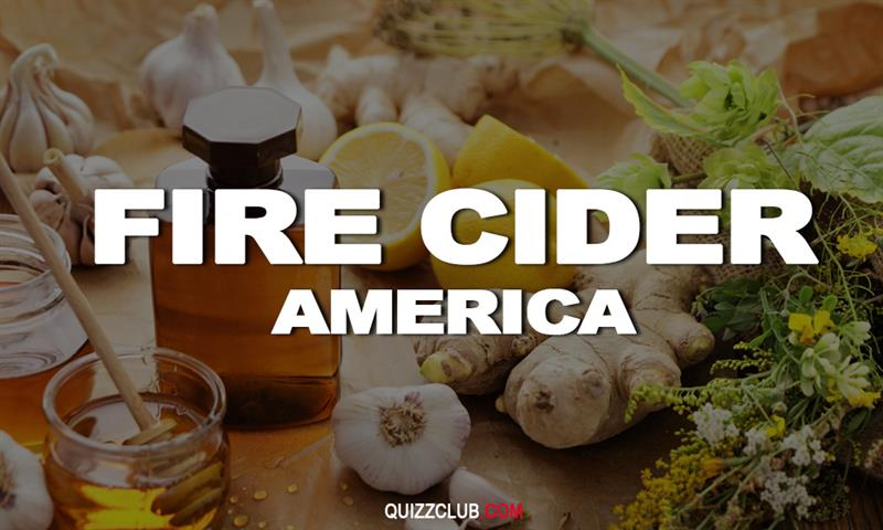 Geography Story: Fire cider (America)